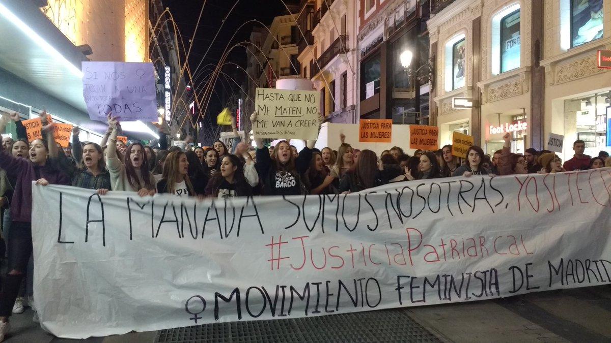 Europara begira: Madrileko mugimendu feministaren indarra (Oihan Vitoria)