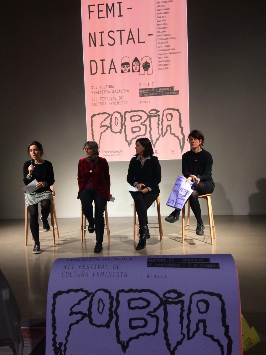 Feministaldia 2017-#Fobia| XII Festival de Cultura Feminista del 27 de noviembre al 3 de diciembre en Tabakalera