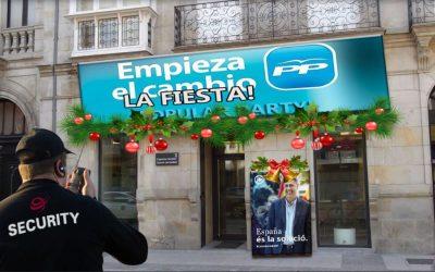 El Partido Popular del País Vasco celebrará su particular cotillón de nochevieja en los locales de San Antonio