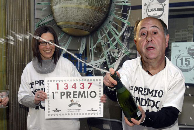 Josean Querejeta decide comprar el 'gordo' de Navidad