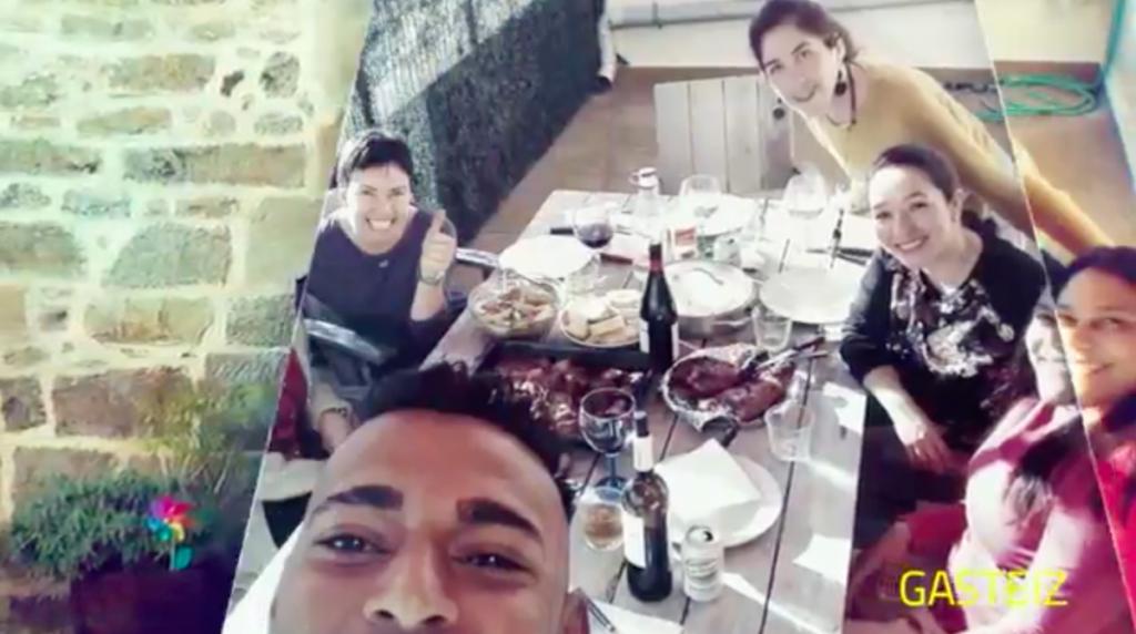 Bizilagunak 2019, vídeo recopilatorio de una jornada en la que 1035 personas de Araban no se dejaron enruidar