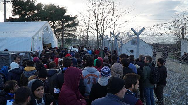 Grecia| Visita de Erdogan y Macron y análisis de la situación social en Lesbos