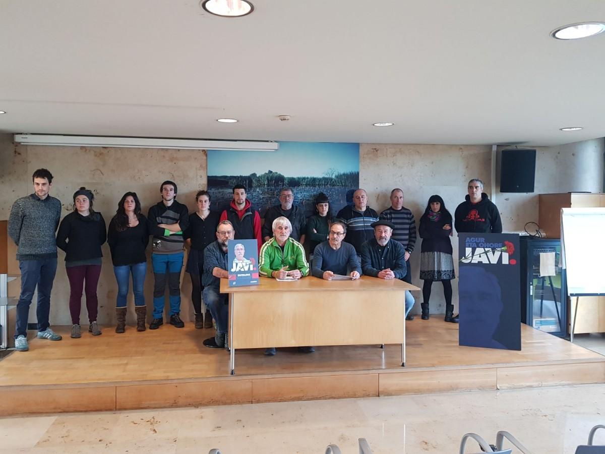 Amigos de Javier Pérez de Nanclares llaman a participar en el acto de recuerdo del sábado