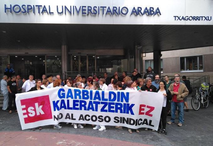 Garbialdi deberá readmitir a la delegada sindical de ESK despedida en Txagorritxu