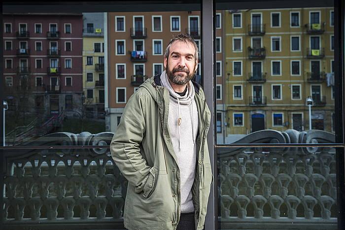 Alfredo Remírez, preso político vasco, desde la prisión de Basauri