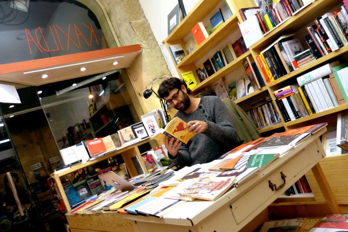Literatura| Kaxilda: Librería y restaurante alternativos