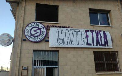 Izarrako Gaztaetxea, husteko zorian