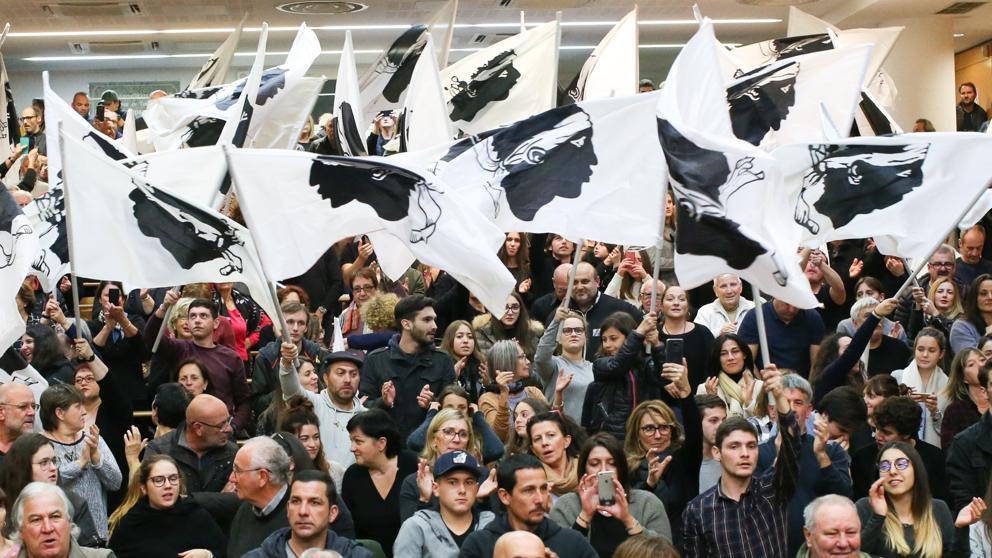 """""""El pueblo corso va a conseguir su independencia, gracias a su conciencia nacional, social y popular"""""""