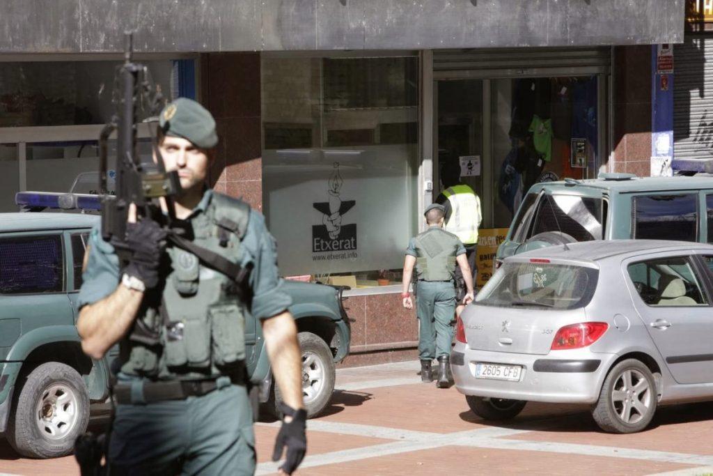 485 Guardias Civiles y 266 Policías Nacionales, la ocupación militar de Araba en cifras