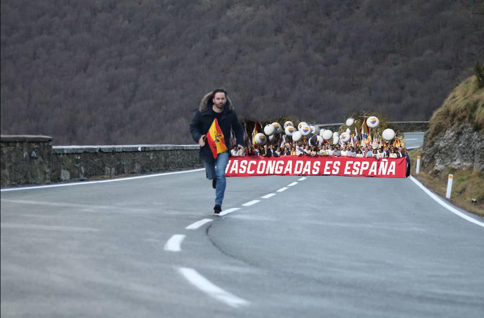 La verdad tras la foto: Santiago Abascal comienza la 'Corrica'