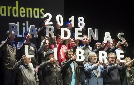 """""""Nuestro objetivo es desmilitarizar las Bardenas"""""""