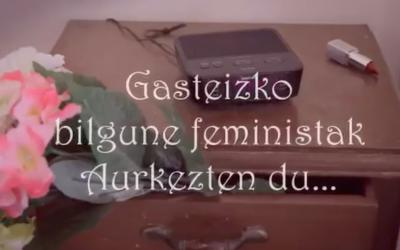 Bilgune Feministak antolatutako Gasteizko 'Ostegun Feministak' bueltan dira