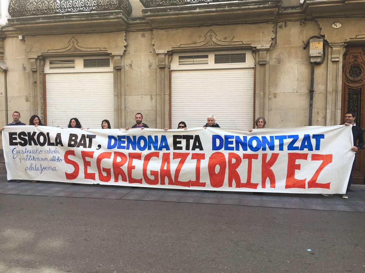 La segregación escolar, uno de los grandes problemas de Gasteiz