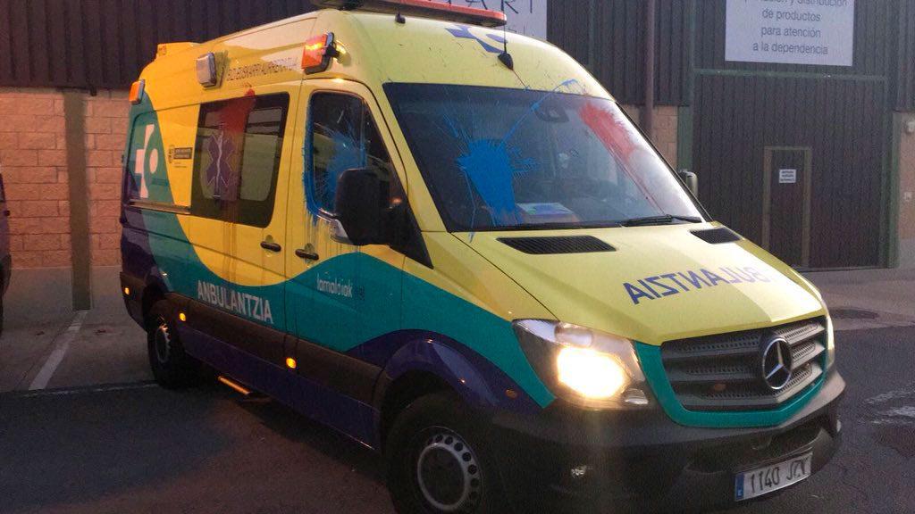 Ambulancias de emergencias en Araba: la precariedad crece tras 6 meses de denuncias