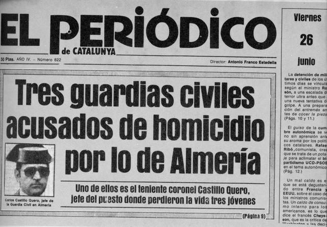 Jonathan Martínez expone el 'Caso Almeria' ante el olvido de esta injusticia