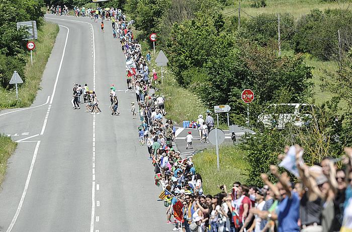 Gasteiz eta Donostia lotuko ditu Euskal Herrian inoiz egin den mobilizaziorik handienak