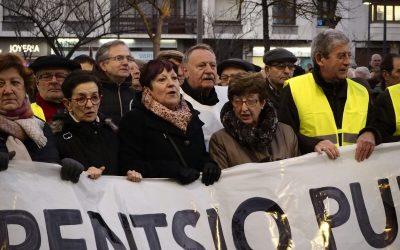 """""""De las 60.000 personas adscritas a la RGI, 20.000 personas son pensionistas, la mayoría viudas"""""""