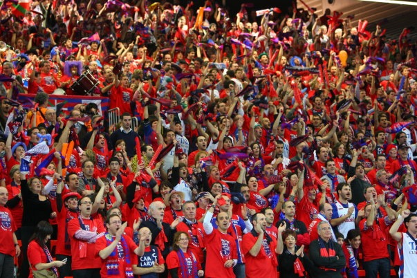 Gasteiztarras republicanos, independentistas y anarquistas apoyarán al Baskonia en la Copa del Rey