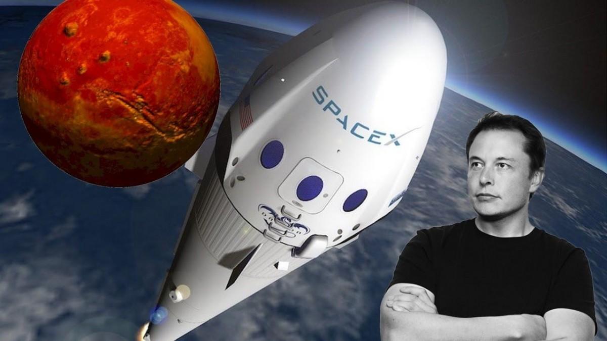 Marte, Elon Musk, deportivo rojo y mucha publicidad gratuita