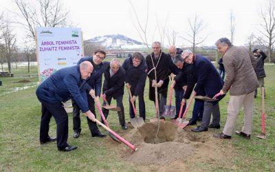 Los políticos alaveses deciden por sus cojones plantar un árbol por el feminismo