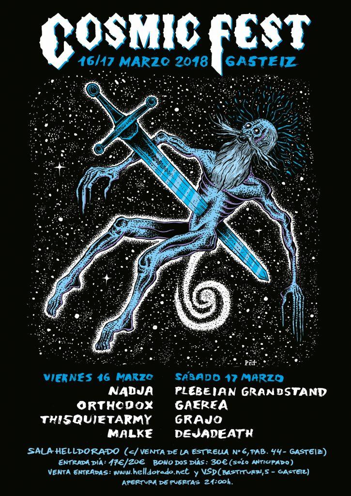Arranca el Cosmic Fest 2018