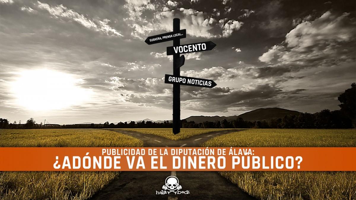 La publicidad de la Diputación de Álava: ¿Adónde va el dinero público?