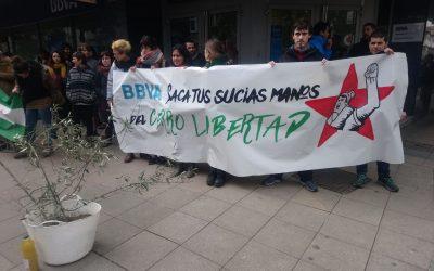 Concentración en solidaridad con el Cerro Libertad