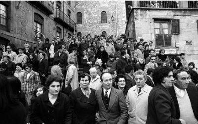 Los Aberri Egunas en Gasteiz: asistencia multitudinaria, detenciones y personas heridas