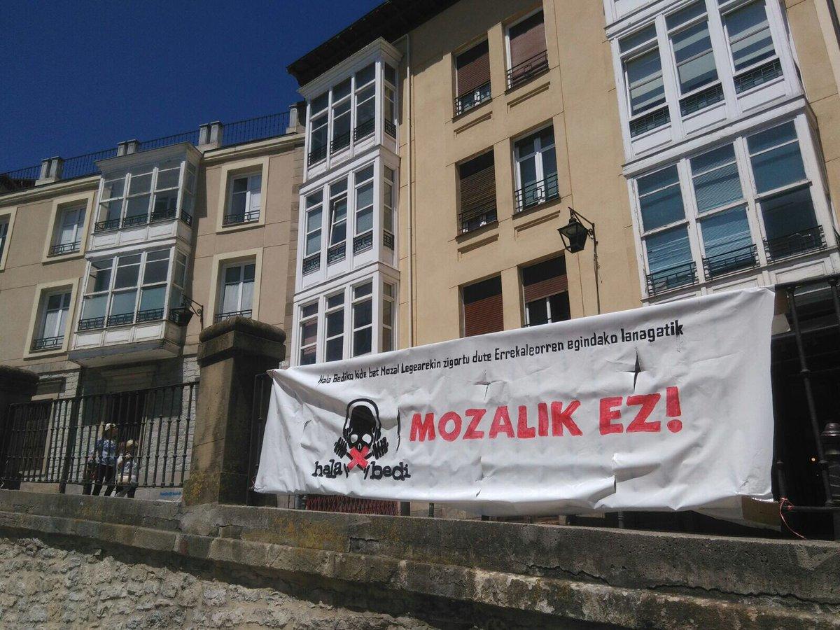 Hala Bedi dará a conocer novedades importantes respecto a la Ley Mordaza impuesta por el Gobierno Vasco