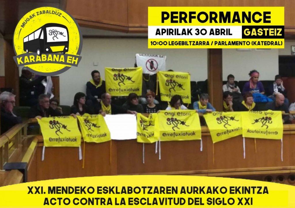 La Caravana Euskal Herria Abriendo Fronteras llegará a Gasteiz el 29 de abril