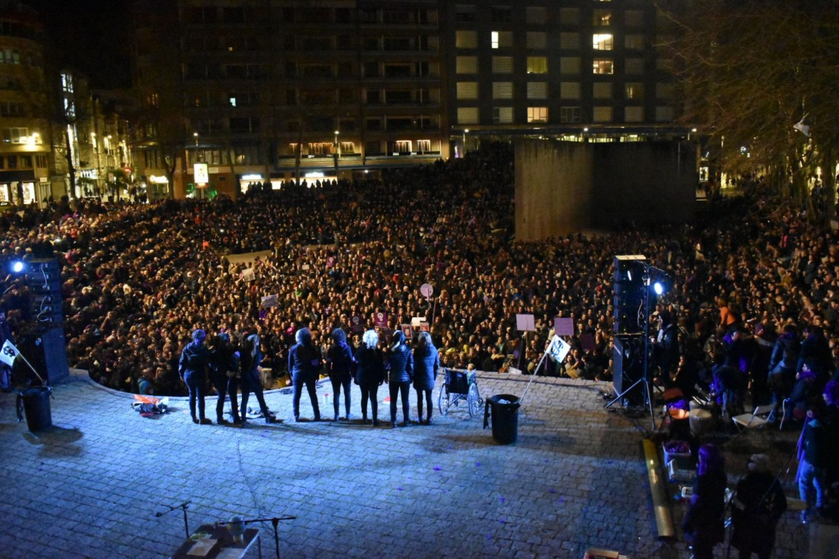 Más multas por el 8 de Marzo: el Ayuntamiento de Gasteiz multa al Sindicato de Estudiantes