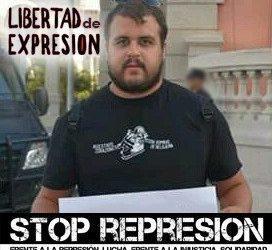 El activista canario Roberto Mesa nueva víctima de la Ley Mordaza