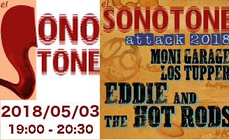 EL SONOTONE – 137 — EL SONTONE ATTACK 2018 (entrevistas y acústico )