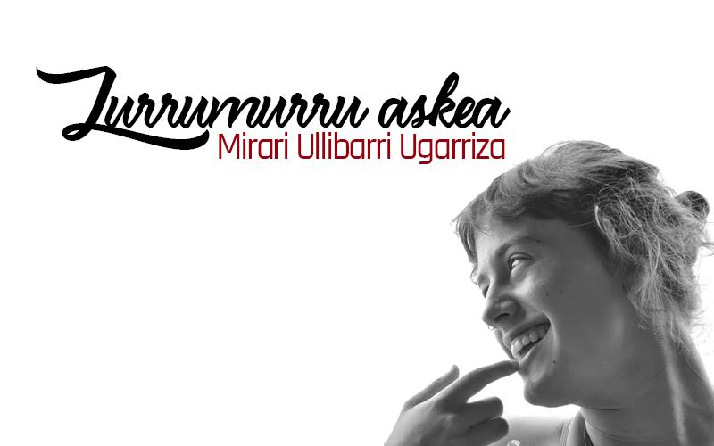 """""""Gatazkaren gutunak"""", Mirari Ulibarri"""