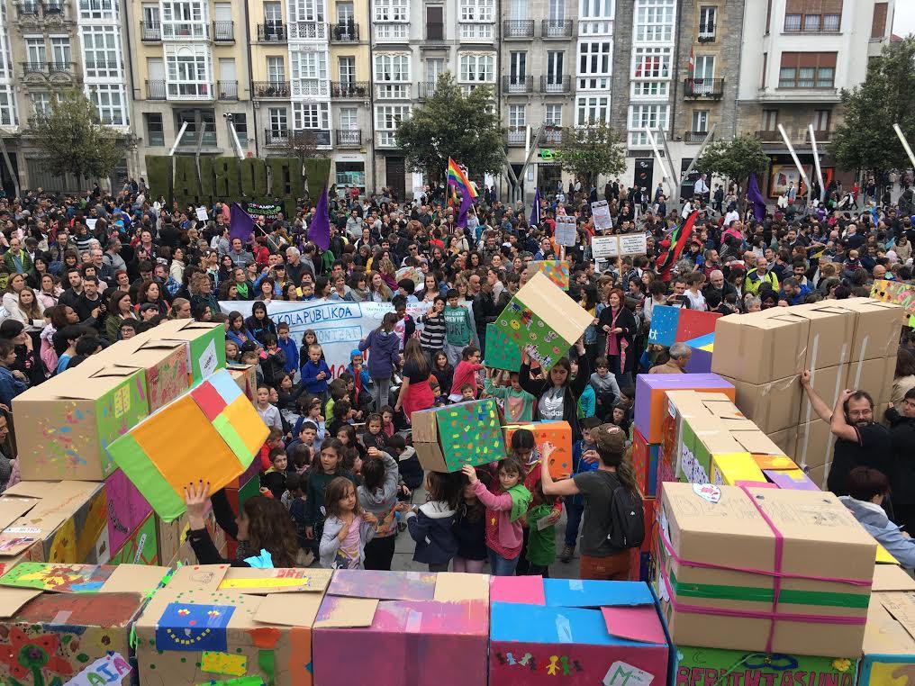 """Euskal Eskola Publikoa, """"denona eta denontzako"""""""