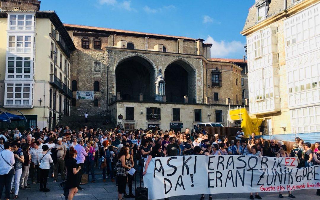 El Movimiento Feminista vuelve a tomar las plazas para denunciar el último asesinato machista