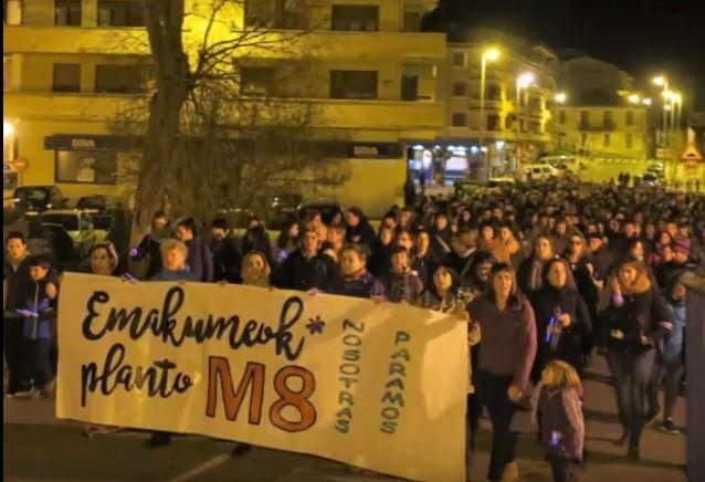 San Juan gaueko eraso matxista bat salatu du Aguraingo Mugimendu Feministak