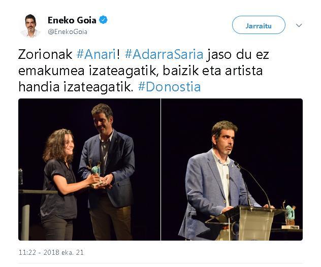 """""""Emakumea eta musika"""" -Alaitz Amundarain-"""