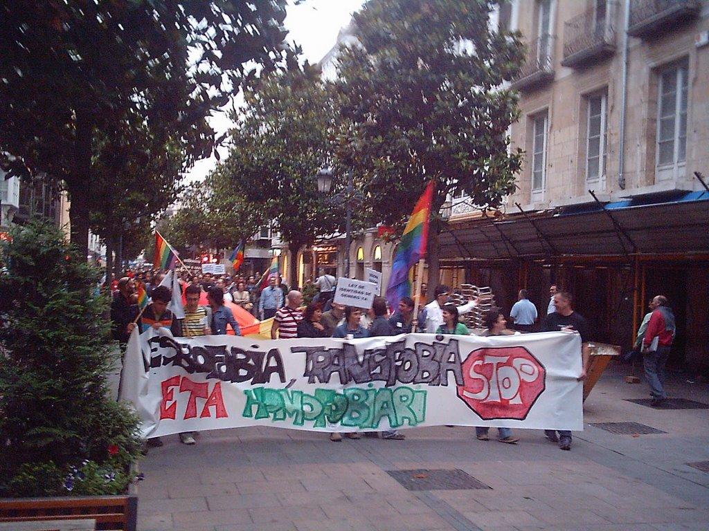 Eraso homofobo bat eman da Zigoitiako cruising gune batean