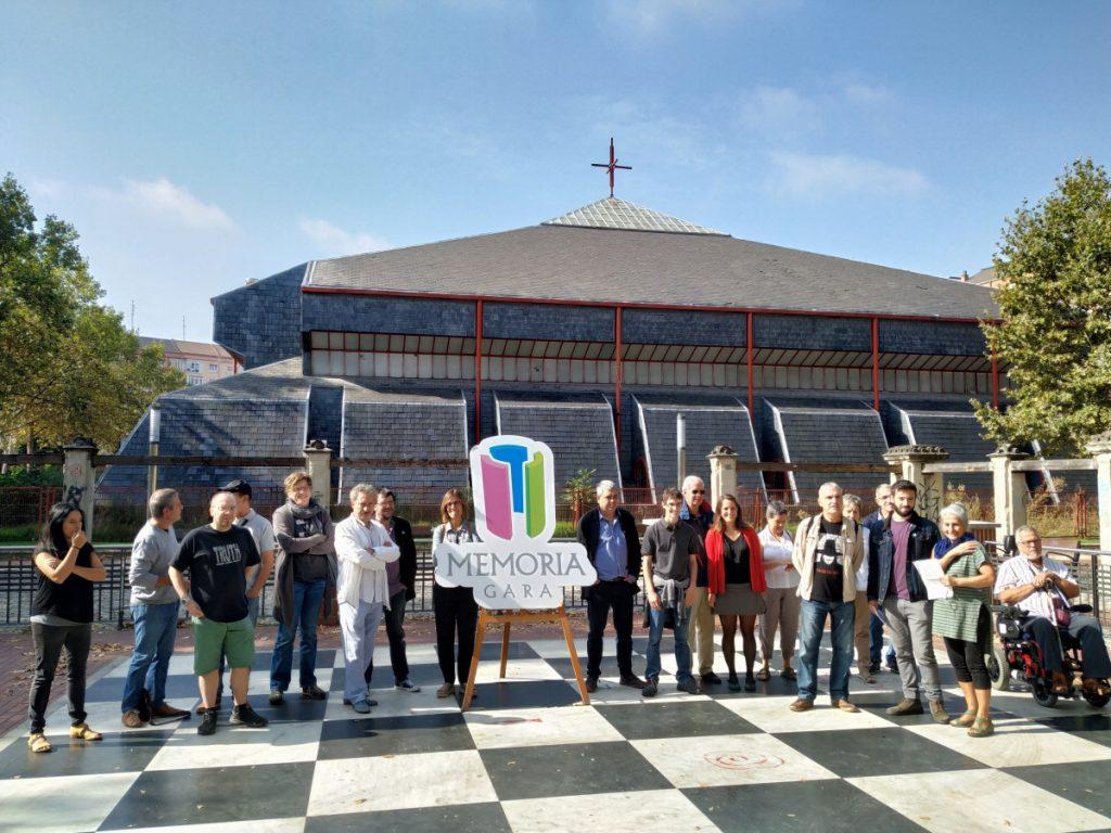 Nace Memoria Gara, una iniciativa popular y diversa para convertir la iglesia del 3 de Marzo en un centro de Memoria y Derechos Humanos