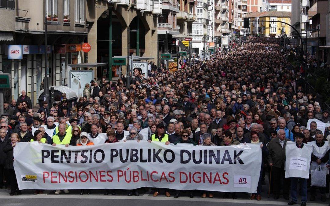 "Iñaki Martín: ""Animar a todas, pensionistas o no, a incorporaros a esta lucha, que es un derecho fundamental"""