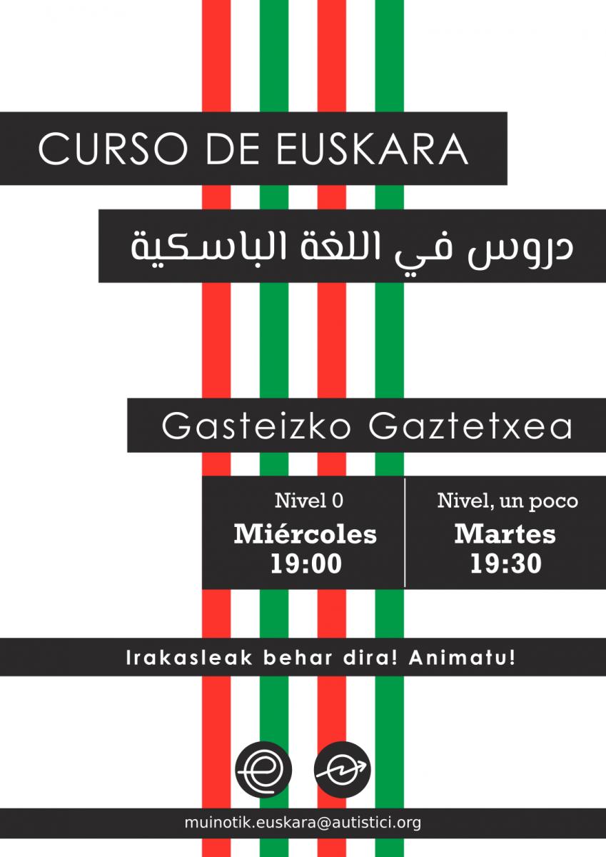 Euskalduntxarrak  2018/10/03  Gaztetxean  Euskara  ikasten!!!