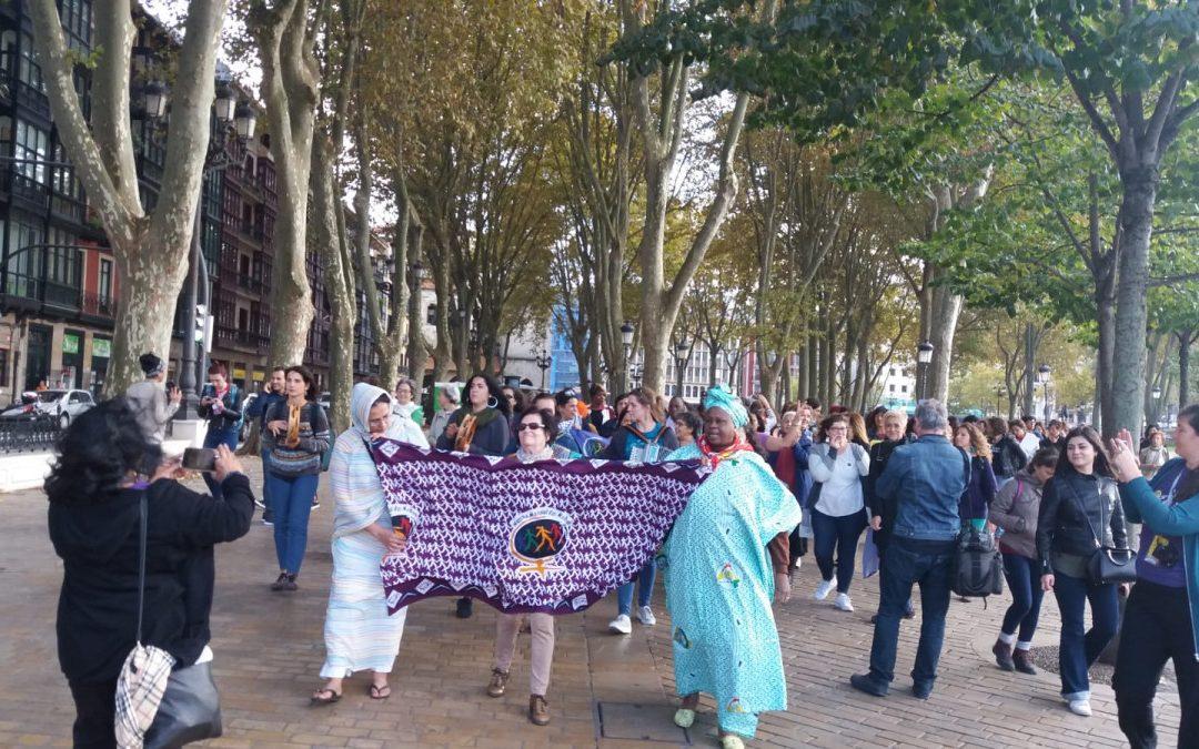 XI. Encuentro de la Marcha Mundial de las Mujeres y Feministon Herria en Bilbo