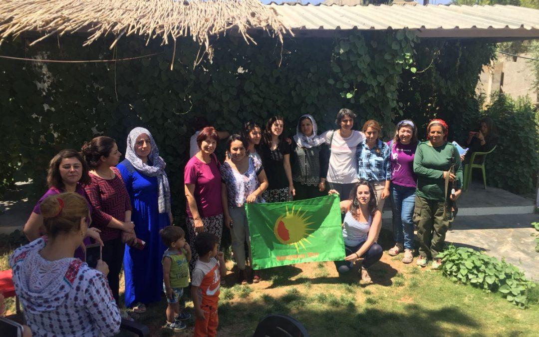 """""""Fuimos a Kobane a crear puentes entre las mujeres de Durango y las de Rojava"""""""