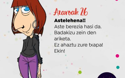'Ahobizi' -Irati Orueta-