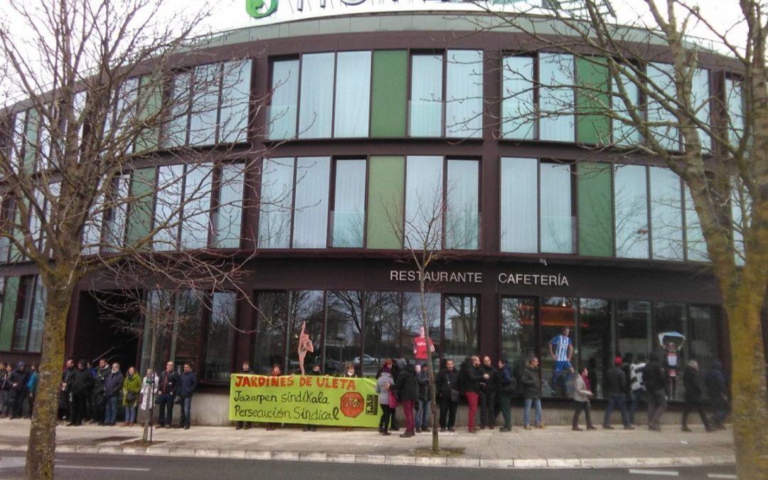 Jardines de Uleta, jazarpen sindikal baten kronika