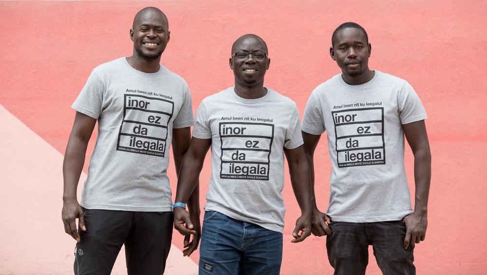 """Bouba Diouf (Mbolo Moye Doole): """"Kooperatibak migratzaileon bizi baldintzak eta integrazioa hobetzeko modu bat izan daitezke"""""""