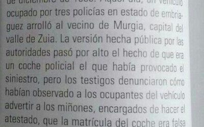 Jose Luis Otxoa, la punta del iceberg de la impunidad policial