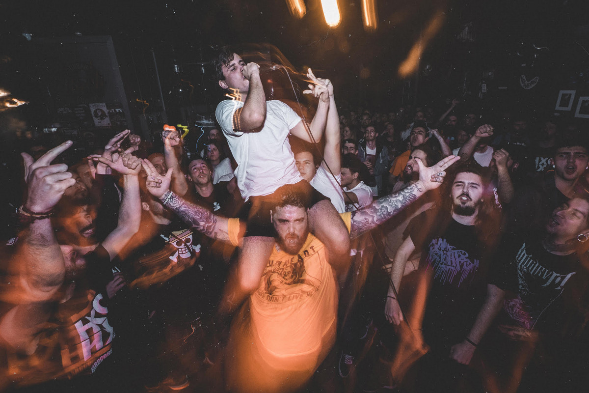 Fiesta de Gasteiz Hardcore Crew en la sala Urban Rock (11/1/2019)
