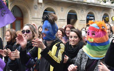 El entrenamiento hacia la Huelga Feminista del 8 de Marzo comienza en Gasteiz